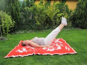 zdvíhanie nôh lah tréning