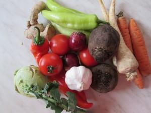 zelenina zdrava potravinová pyramída