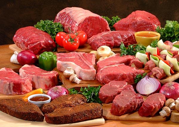bielkovinova dieta mäso