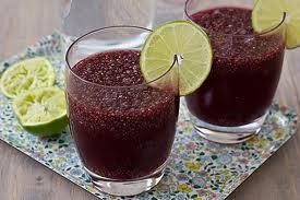 jablkový drink s chia