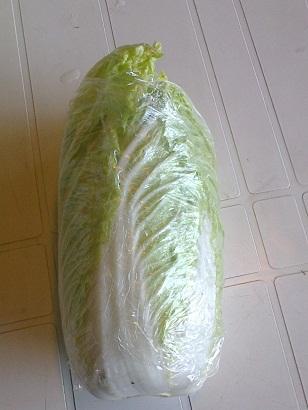 činska kapusta zelenina