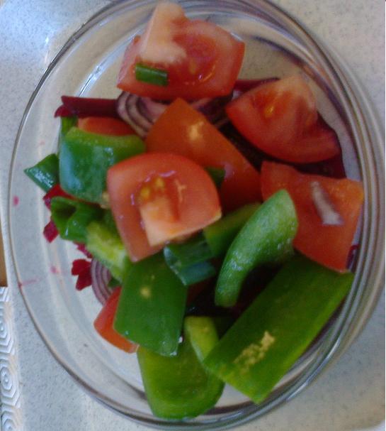 zeleninovy šalat