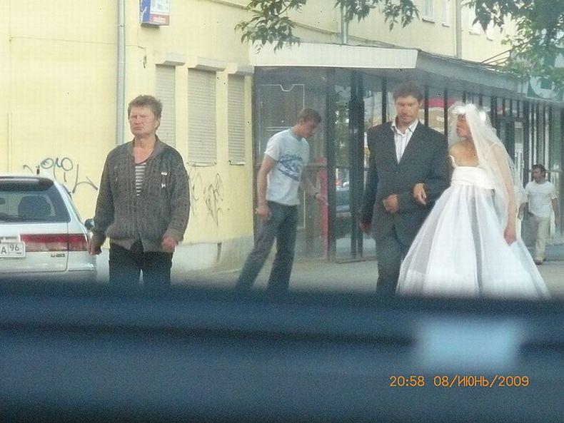 srandovna svatba špatna nevesta