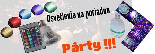 party osvetlenie