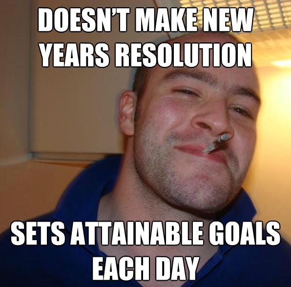 novoročné predsavzatie