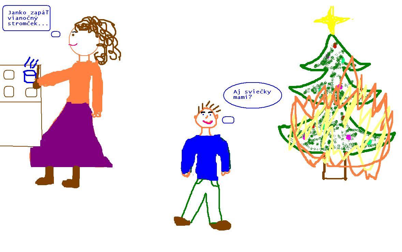 vianočný vtip
