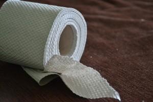 hnačka toaletný papier